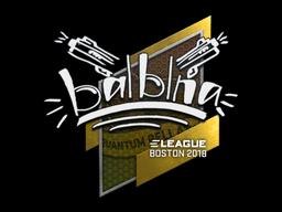 Sticker | balblna | Boston 2018