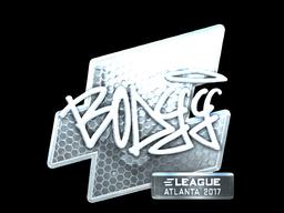 Sticker | bodyy (Foil) | Atlanta 2017