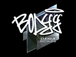 Sticker | bodyy (Foil) | Boston 2018