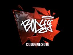 Sticker | bodyy (Foil) | Cologne 2016