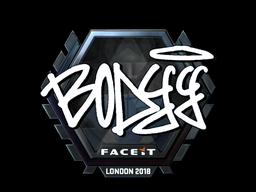 Sticker | bodyy (Foil) | London 2018