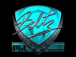 Sticker | boltz (Foil) | Krakow 2017