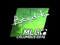 Sticker | bondik (Foil) | MLG Columbus 2016