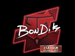 Sticker | bondik | Atlanta 2017