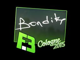 Sticker | bondik | Cologne 2015