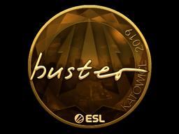 Sticker | buster (Gold) | Katowice 2019