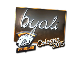 Sticker | byali (Foil) | Cologne 2015
