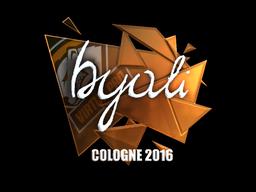 Sticker | byali (Foil) | Cologne 2016
