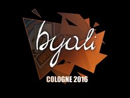 Sticker | byali | Cologne 2016