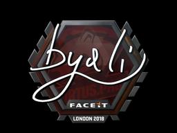Sticker | byali | London 2018