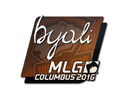 Sticker | byali | MLG Columbus 2016