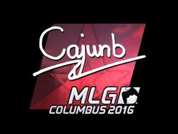 Sticker | cajunb (Foil) | MLG Columbus 2016