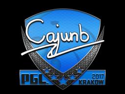 Sticker | cajunb | Krakow 2017