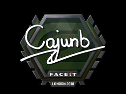 Sticker | cajunb | London 2018