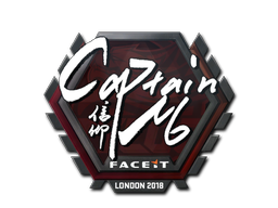 Sticker | captainMo | London 2018