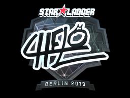 Sticker | chelo (Foil) | Berlin 2019