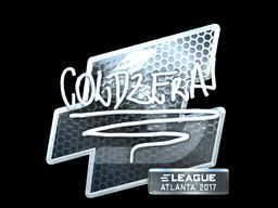 Sticker | coldzera (Foil) | Atlanta 2017
