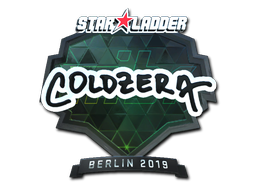 Sticker | coldzera (Foil) | Berlin 2019