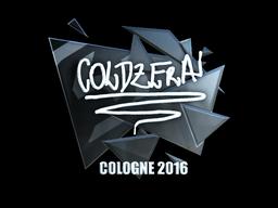 Sticker | coldzera (Foil) | Cologne 2016