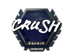 Sticker | crush | London 2018