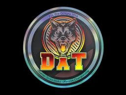 Sticker | dAT team (Holo) | Cologne 2014
