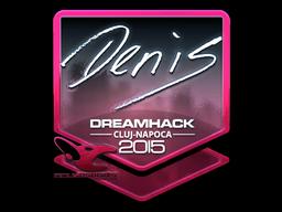 Sticker | denis (Foil) | Cluj-Napoca 2015