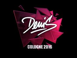 Sticker | denis (Foil) | Cologne 2016
