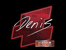 Sticker | denis | Atlanta 2017