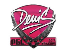 Sticker | denis | Krakow 2017