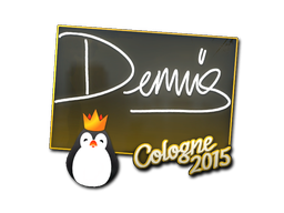 Sticker | dennis | Cologne 2015
