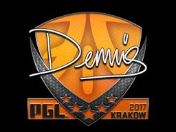 Sticker | dennis | Krakow 2017