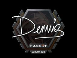 Sticker | dennis | London 2018