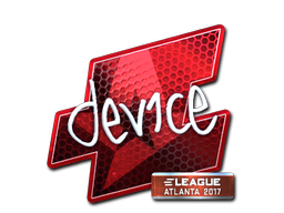 Sticker | device (Foil) | Atlanta 2017