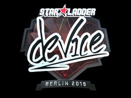 Sticker | device (Foil) | Berlin 2019