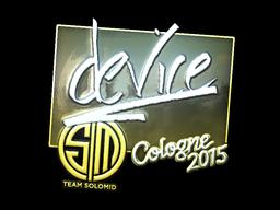Sticker | device (Foil) | Cologne 2015