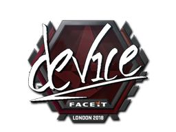 Sticker | device | London 2018