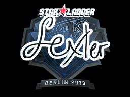 Sticker | dexter (Foil) | Berlin 2019