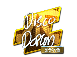 Sticker | disco doplan (Foil) | Atlanta 2017