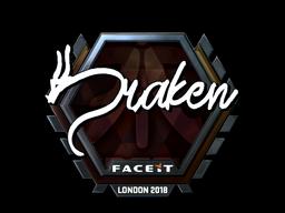 Sticker | draken (Foil) | London 2018