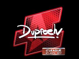 Sticker | dupreeh (Foil) | Atlanta 2017