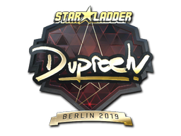 Sticker | dupreeh (Gold) | Berlin 2019