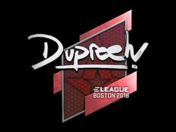 Sticker | dupreeh | Boston 2018