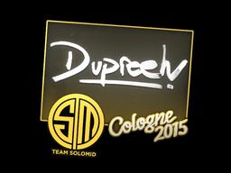 Sticker | dupreeh | Cologne 2015