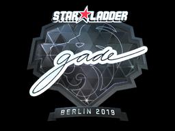 Sticker | gade (Foil) | Berlin 2019