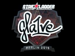 Sticker | gla1ve (Foil) | Berlin 2019