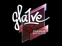 Sticker | gla1ve (Foil) | Boston 2018
