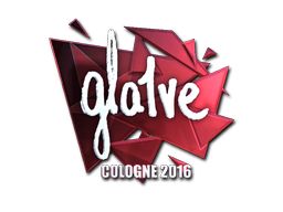 Sticker | gla1ve (Foil) | Cologne 2016
