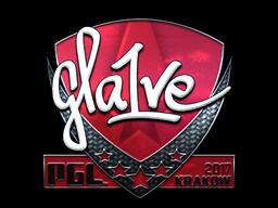 Sticker | gla1ve (Foil) | Krakow 2017