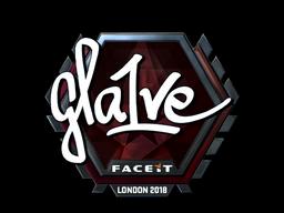 Sticker | gla1ve (Foil) | London 2018