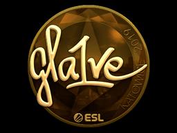 Sticker | gla1ve (Gold) | Katowice 2019